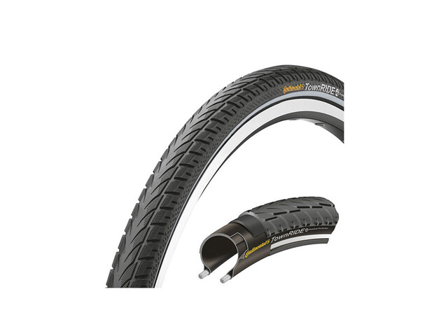 """Continental Town RIDE 26 x 1,75"""" Puncture Protection Draht Reflex"""